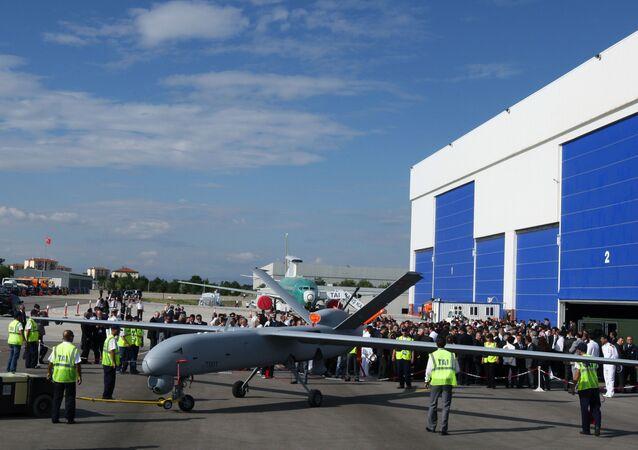 طائرة بدون طيار تركية من نوع أنكا (العنقاء Anka)