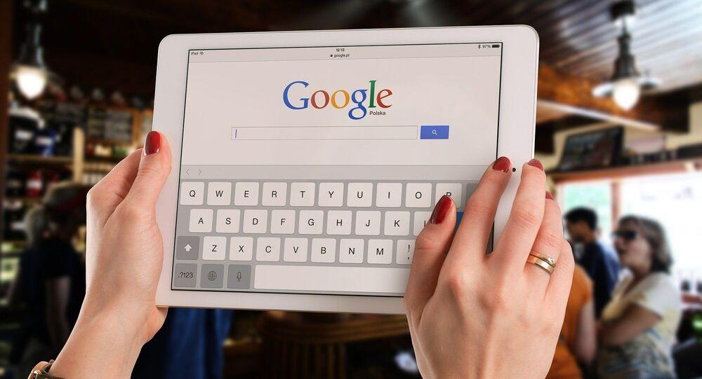عملية البحث في غوغل
