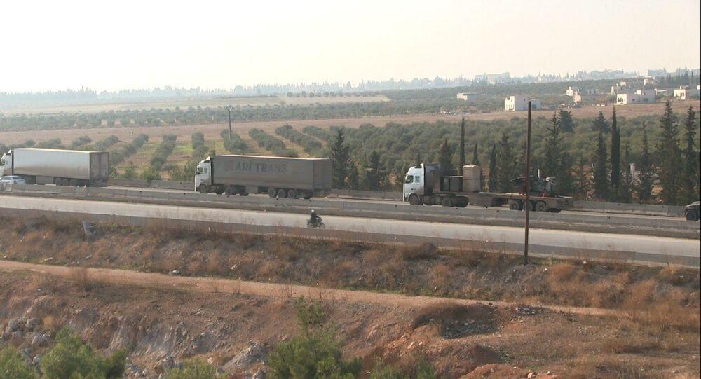 الجيش السوري يدخل نقطة مراقبة الكورانيعلى طريق (M5) بعد انسحاب القوات التركية