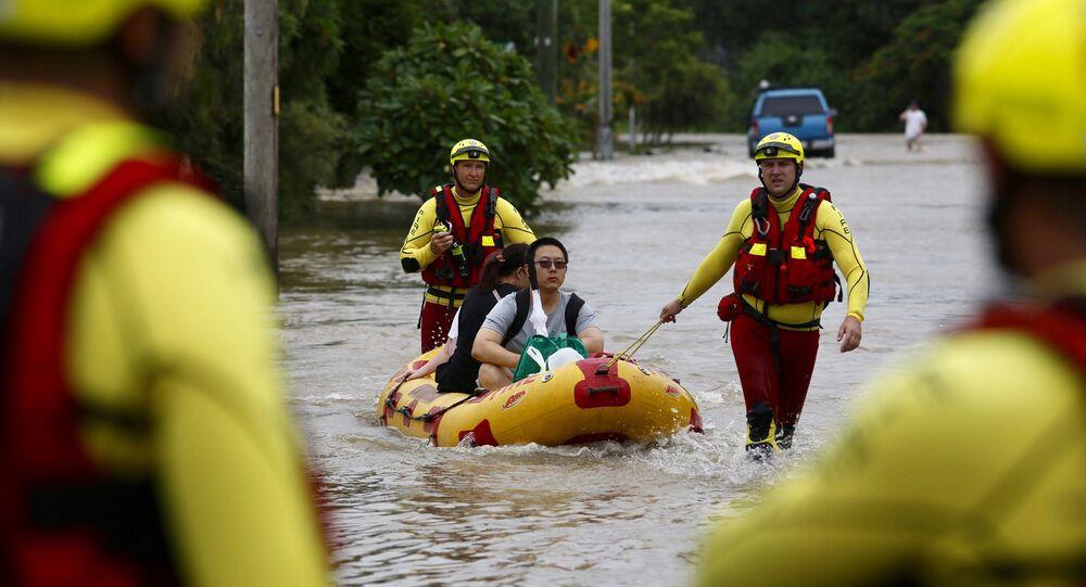 فيضانات في أستراليا