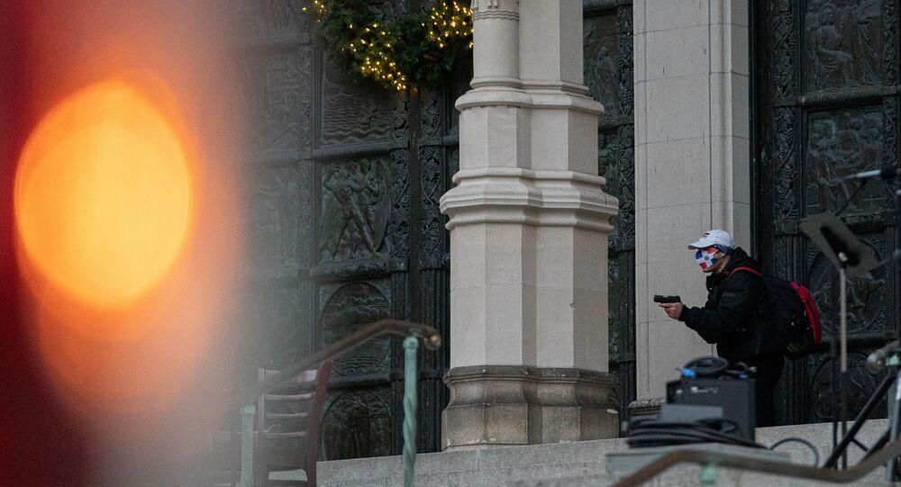 مسلح يفتح النار على حفل أمام كاتدرائية في نيويورك