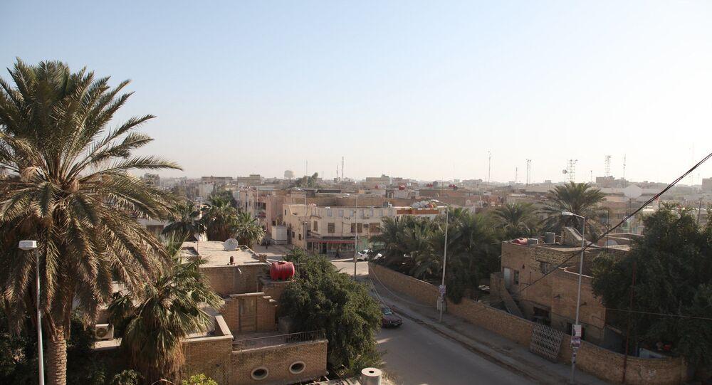 مدينة الناصرية في العراق