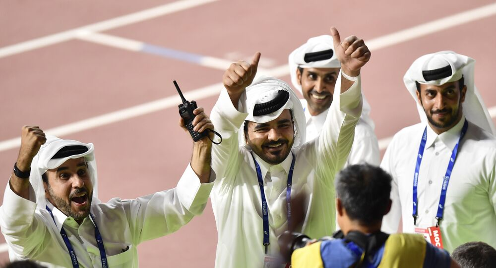 الشيخ جوعان بن حمد، رئيس اللجنة الأولمبية القطرية