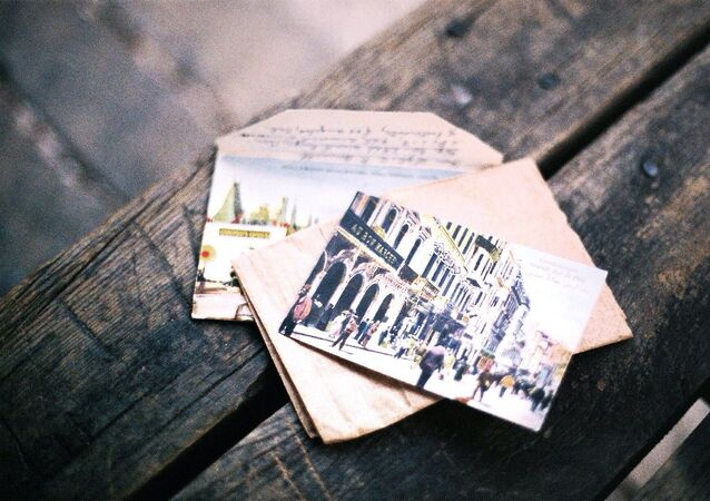 بطاقة بريدية
