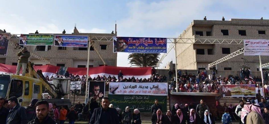 القبائل العربية في دير الزور: نرفض نهب ثرواتنا بالتعاون مع الاحتلال الأمريكي