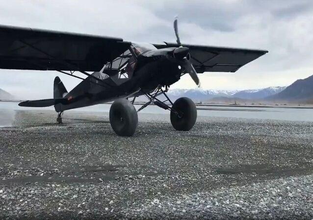 طائرة أمريكية طراز بي إيه - 18 سوبر كوب