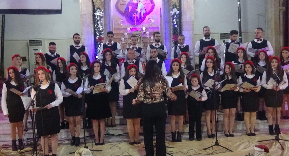 السريان وعيد الميلاد في سوريا