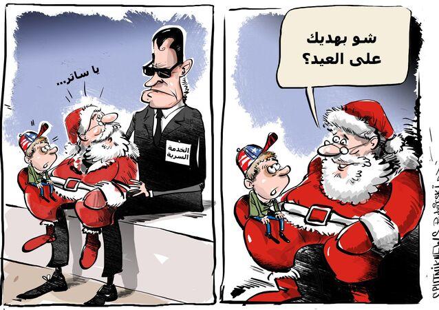 أجهزة الخدمة السرية الأمريكية تراقب بابا نويل