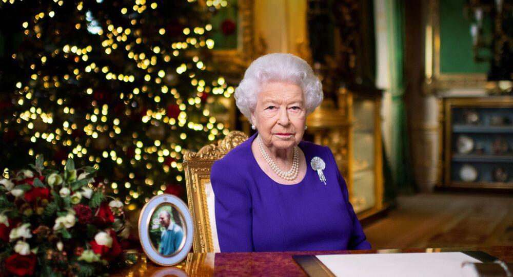 ملكة بريطانيا إليزابيث الثانية خلال خطابها للكريسماس، 24 ديسمبر/ كانون الأول 2020