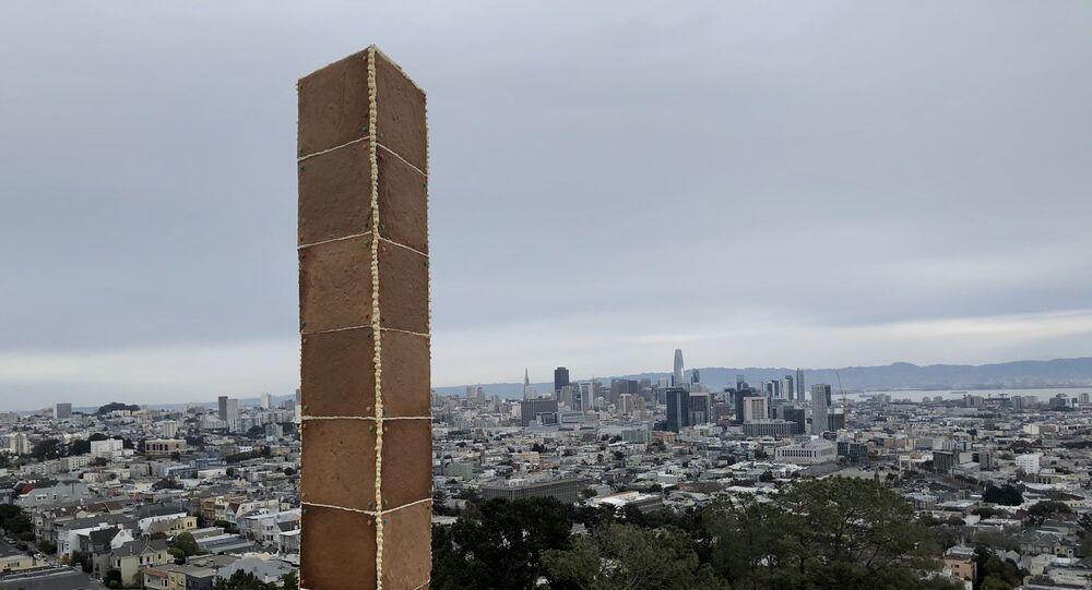 متراصة مصنوعة من خبز الزنجبيل في سان فرانسيسكو