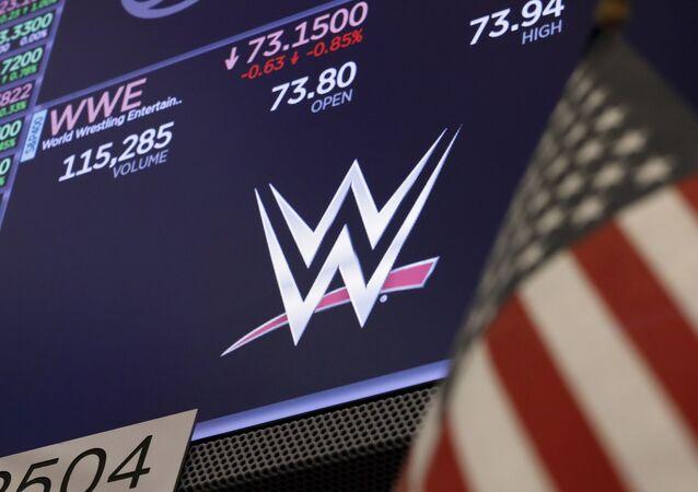 شعار شركة المصارعة العالمية الترفيهية WWE