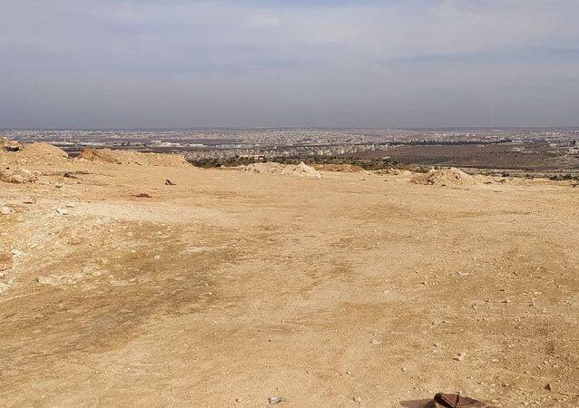 سبوتنيك ترصد بقايا رابع نقطة تركية منسحبة من ريف حلب
