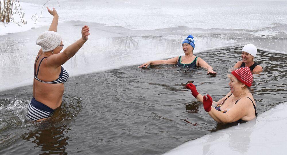 السباحة في نوفوسيبيرسك