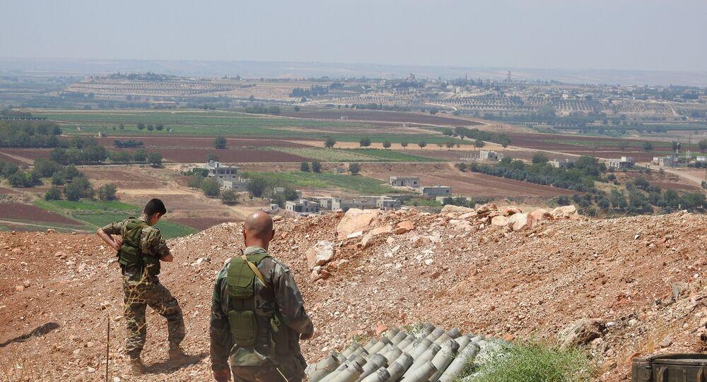 الجيش السوري يحيد مسلحين من النصرة غرب سراقب
