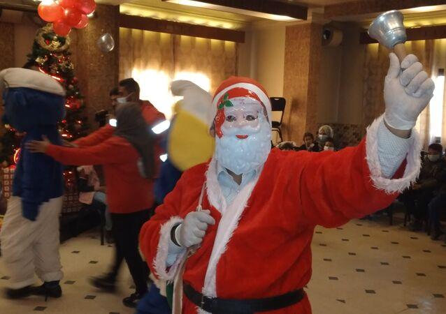 الهلال السوري يحتفل برأس السنة مع ذوي الاحتياجات الخاصة وأيتام الحسكة