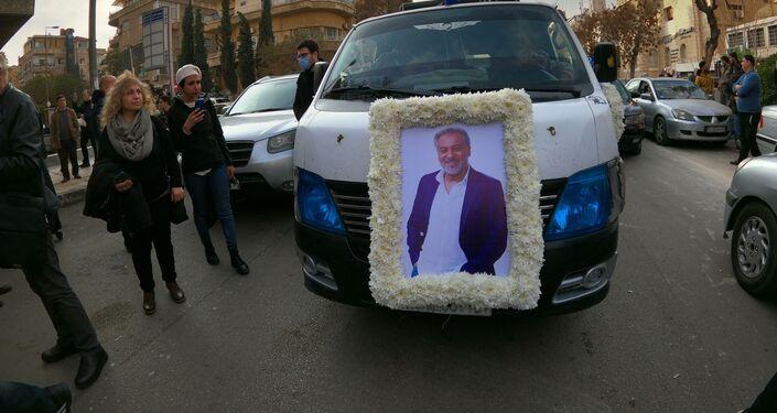 تشييع جنازة المخرج السوري حاتم علي