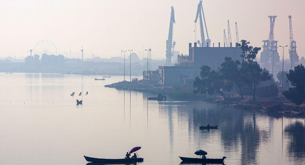 ميناء البصرة العراقي