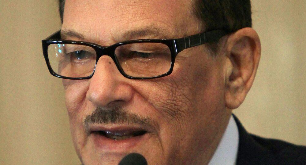 صفوت الشريف رئيس مجلس الشورى المصري الأسبق، وزير الإعلام في عهد حسني مبارك