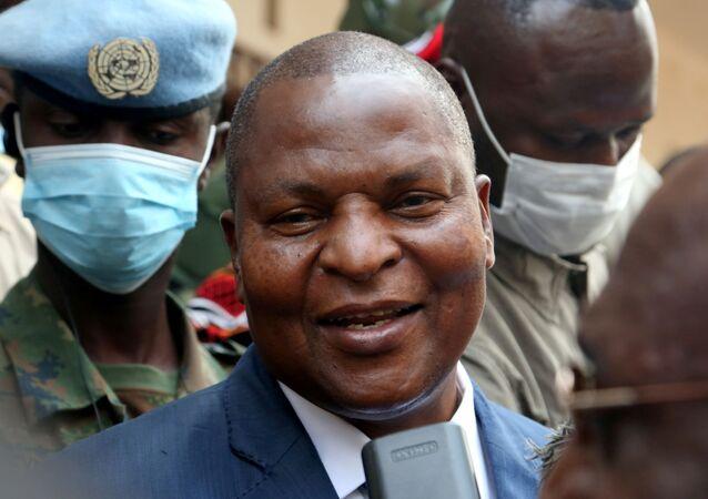 رئيس جمهورية أفريقيا الوسطى فوستان آركانج تواديرا