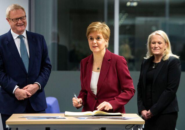 رئيسة وزراء اسكتلندا