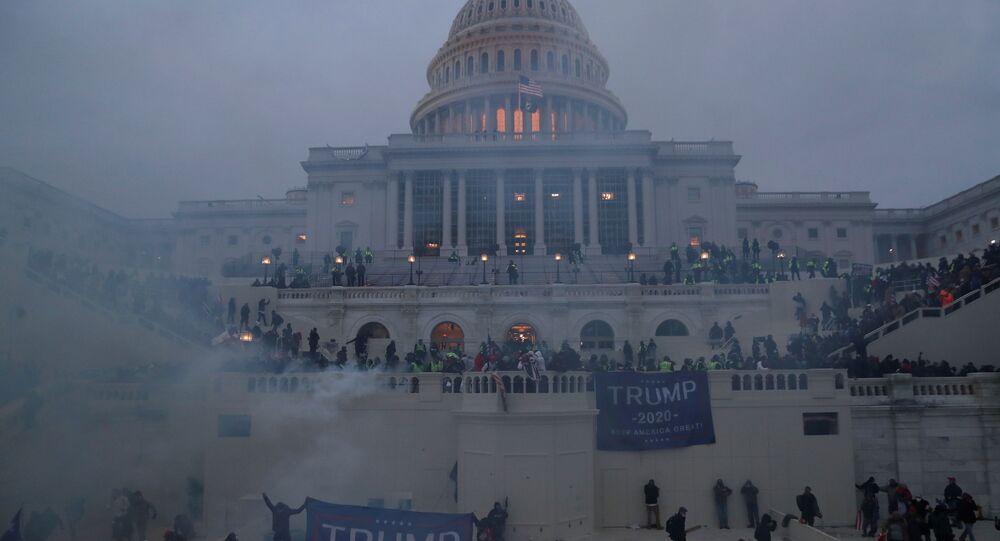 تجمع لأنصار الرئيس الأمريكي دونالد ترامب
