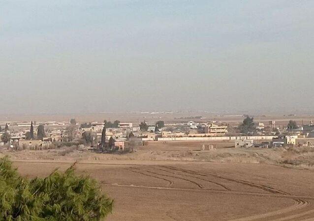 قرى ريف بلدة تل تمر شمالي غربي محافظة الحسكة في سوريا