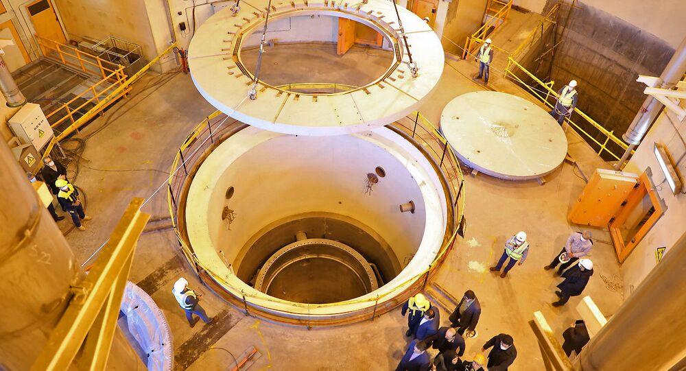 مفاعل أراك النووي الإيراني بالماء الثقيل