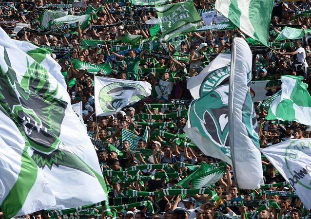 مشجعو نادي الرجاء المغربي