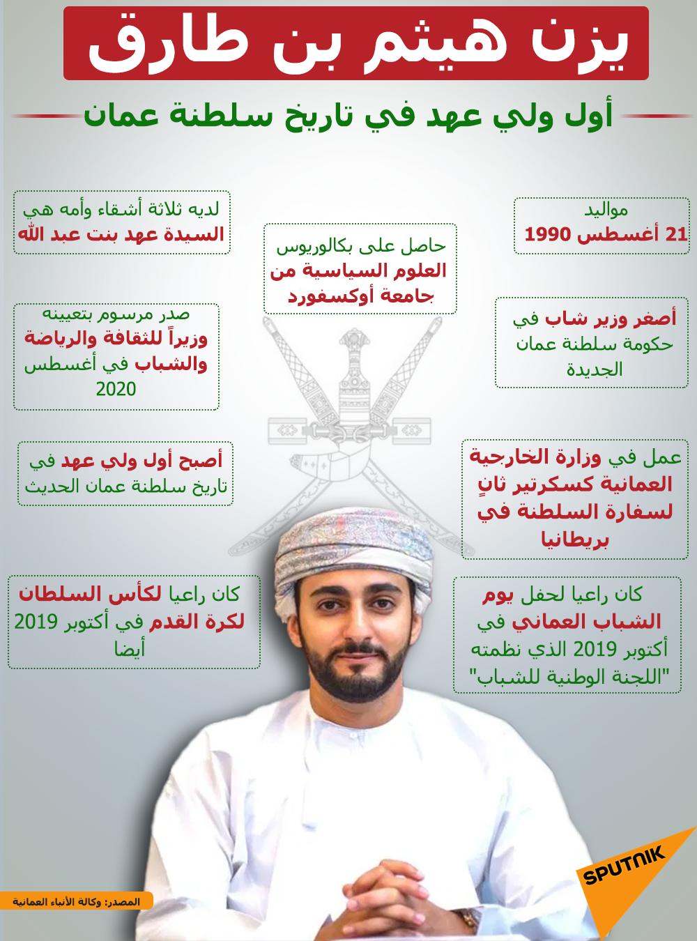 إنفوجرافيك.. أول ولي عهد في تاريخ سلطنة عمان