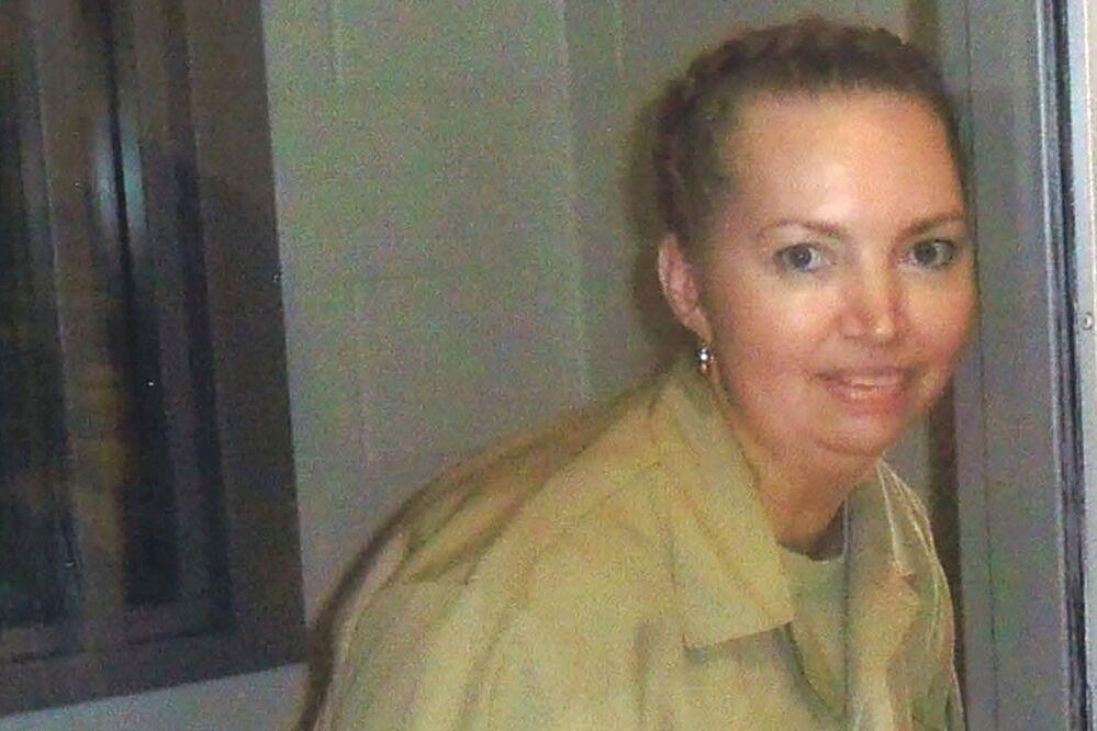 ليزا مونتغومري، سجينة فيدرالية من المقرر إعدامها. في صورة غير مؤرخة بالمركز الطبي الفيدرالي فورت وورث
