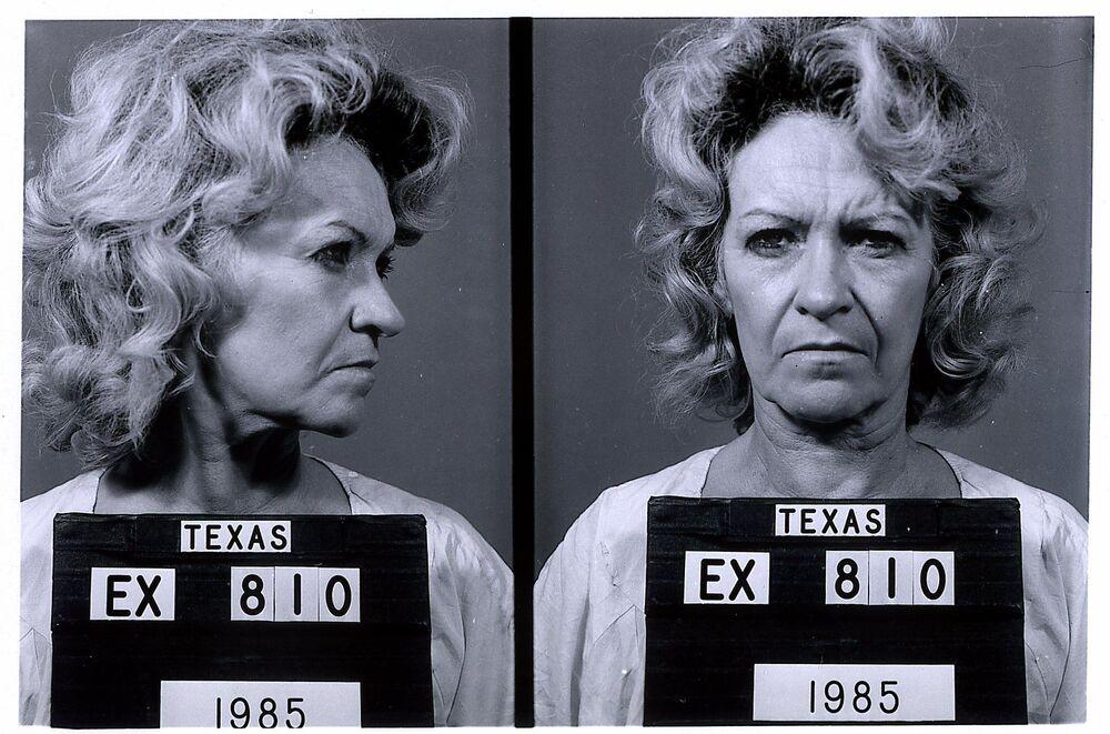 تظهر هذه الصورة التي نشرتها وزارة العدل الجنائي في تكساس عام ،1985 والتي تم إصدارها في 10 فبراير/ شباط 2000، القاتلة المدانة بيتي لو بيتس، 62 عامًا، الذي تم إعدامها في 24 فبراير/ شباط 2000.