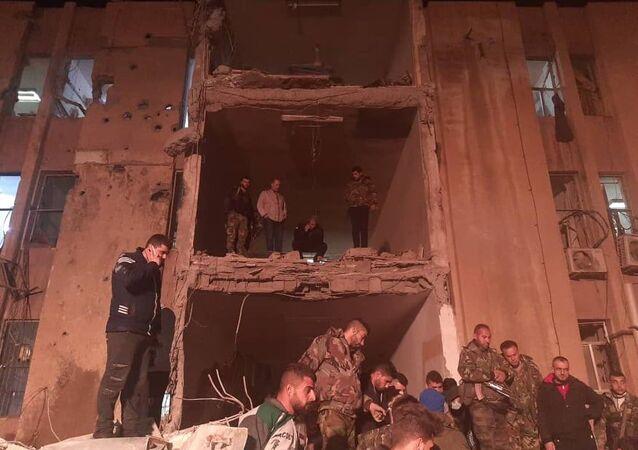 العدوان الإسرائيلي على دير الزور في سوريا