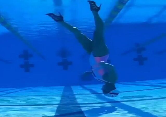 مهارات متميزة في السباحة