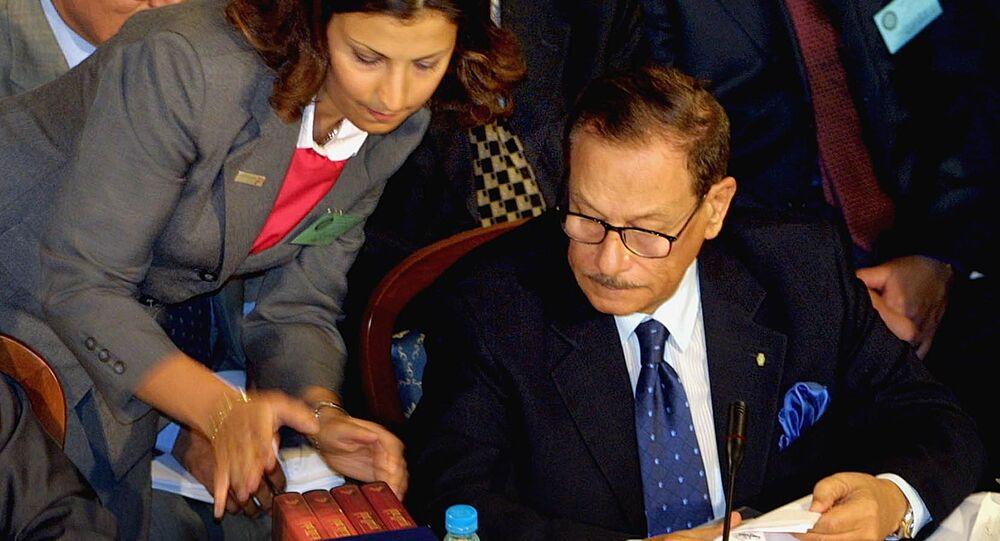 وزير الإعلام المصري السابق ورئيس مجلس الشورى السابق صفوت الشريف