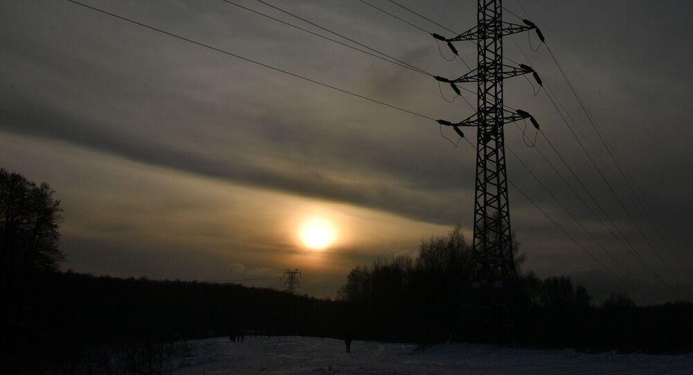 غروب الشمس في موسكو، 13 يناير 2021
