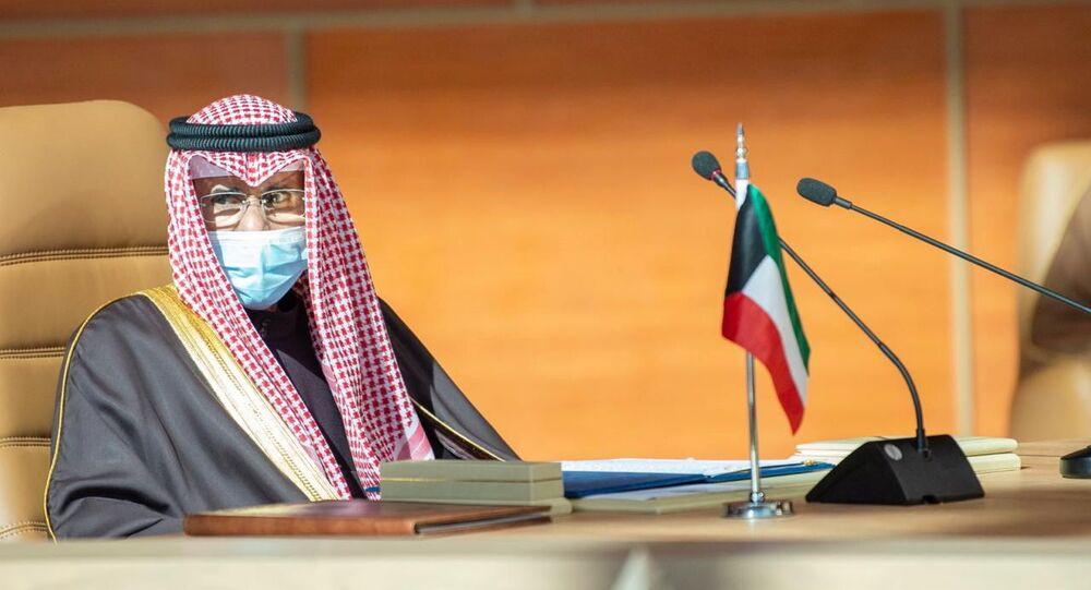 أمير الكويت الشيخ نواف الأحمد الصباح، 5 يناير 2021