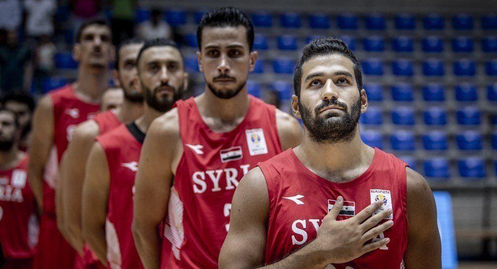 المنتخب السوري لكرة السلة