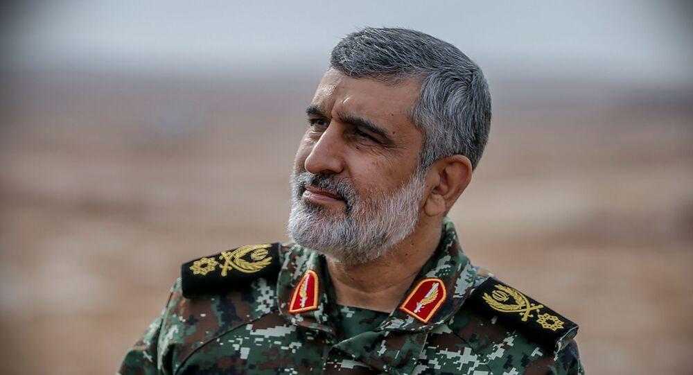 قائد القوة الجوفضائية في الحرس الثوري أمير علي حاجي زادة