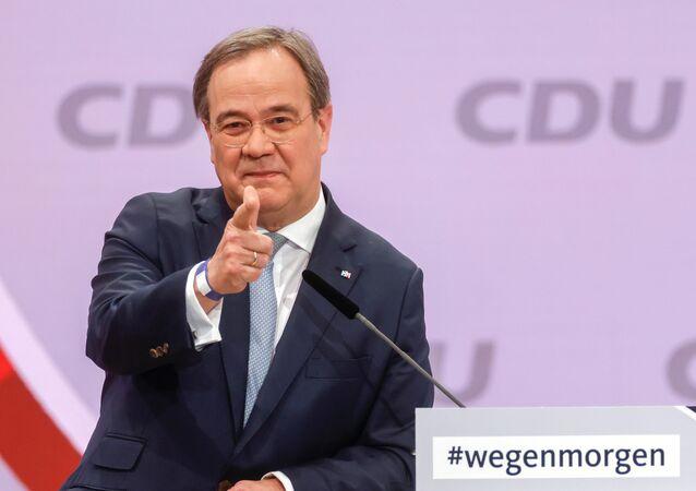 زعيم حزب الاتحاد الديمقراطي المسيحي الحاكم في ألمانيا، أرمين لاشيت