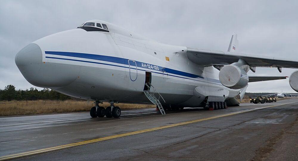 طائرات النقل الإستراتيجي الروسية من طراز أن – 124