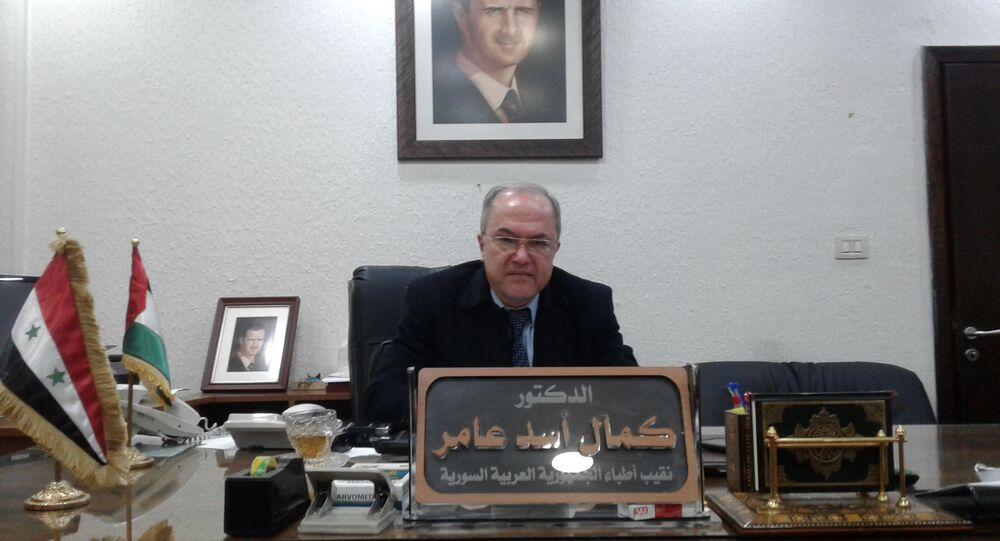 نقيب أطباء سوريا نقيب أطباء سوريا الدكتور كمال أسد عامر: حملة لقاح كورونا تبدأ في نيسان بمليوني جرعة