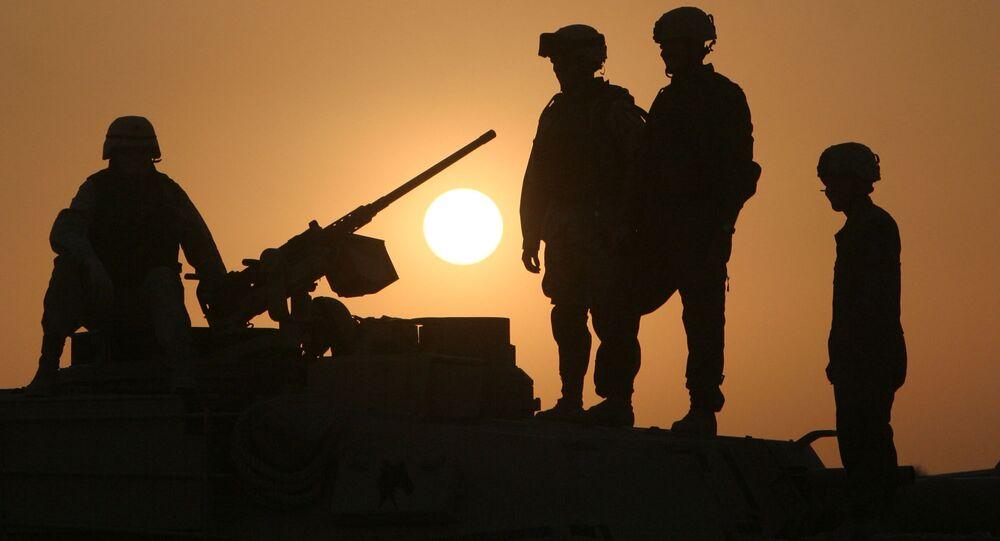 الجنود الأمريكيون في العراق