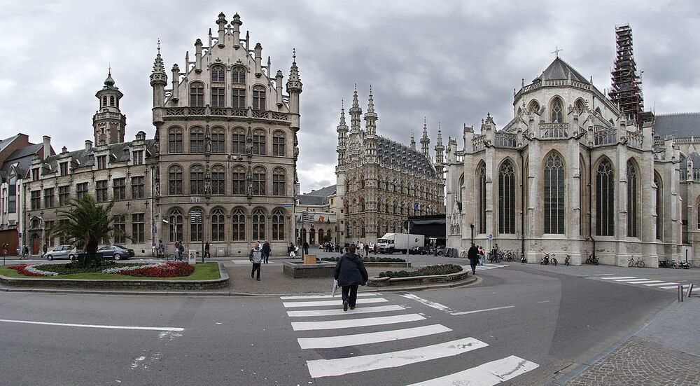 مدينة لوفان البلجيكية