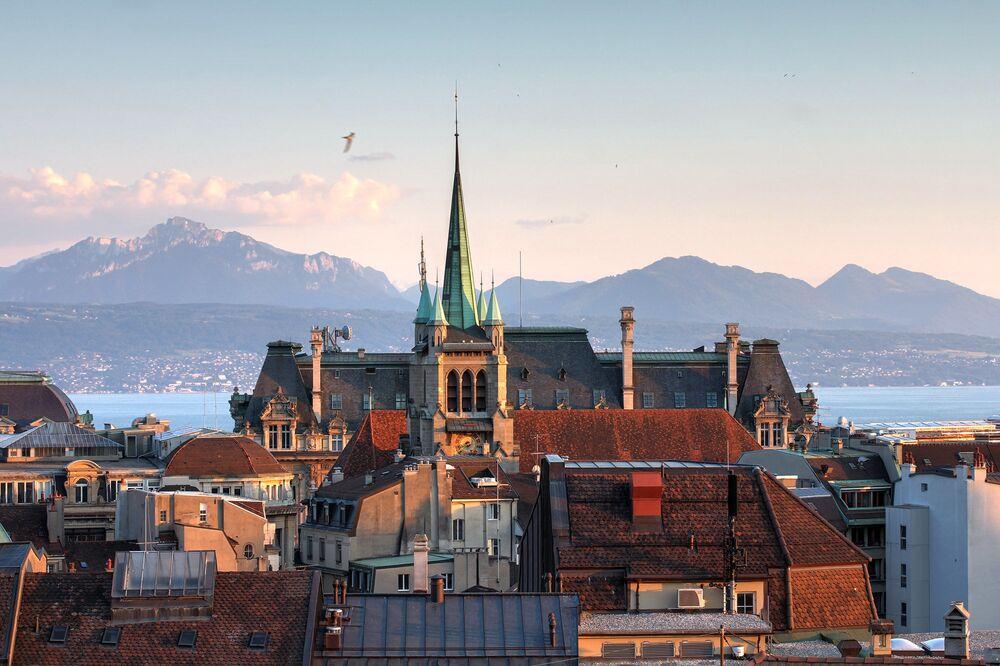 كنيسة القديس فرنسيس في لوزان، سويسرا