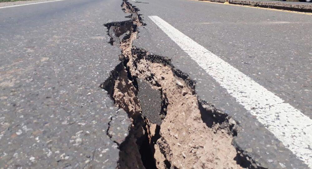 تداعيات زلزال في سان خوان، الأرجنتين 19 يناير 2021