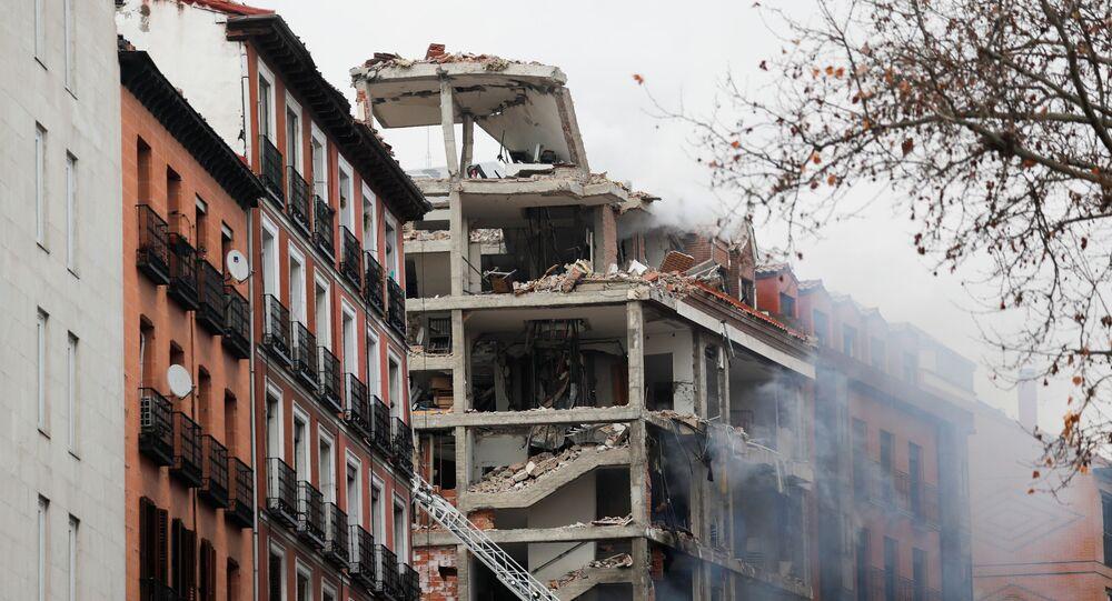 انفجار وسط العاصمة الإسبانية مدريد