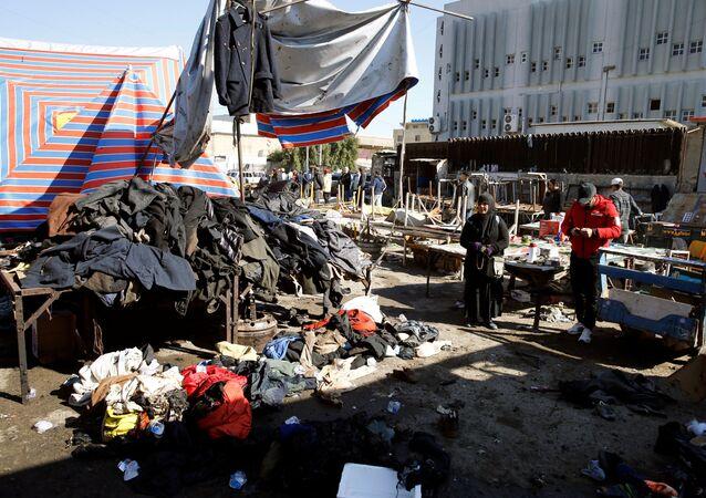 هجومان انتحاريان في بغداد، العراق 21 يناير 2021
