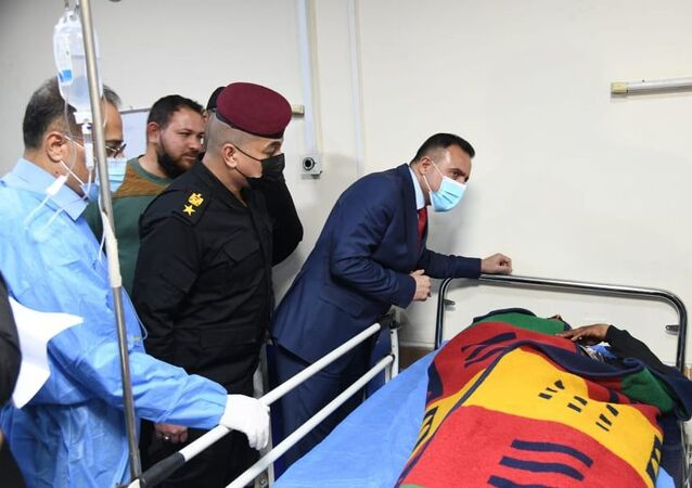 ضحايا حادث تفجير بغداد