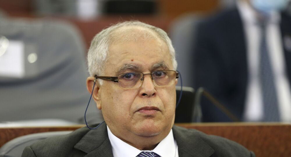 وزير الطاقة الجزائري عبد المجيد عطار
