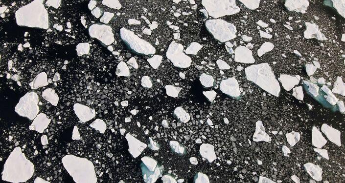 صورة جوية في المحيط المتجمد الشمالي، ألاسكا، الولايات المتحدة الأمريكية، 15 سبتمبر 2020